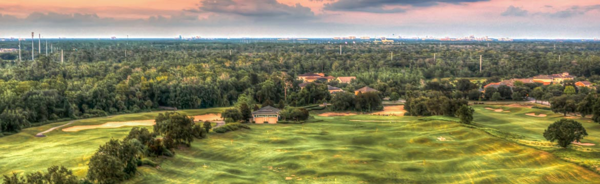 Stay at Highgate Sunshine Villa and play golf at ChampionsGate Golf Club in Orlando, Florida