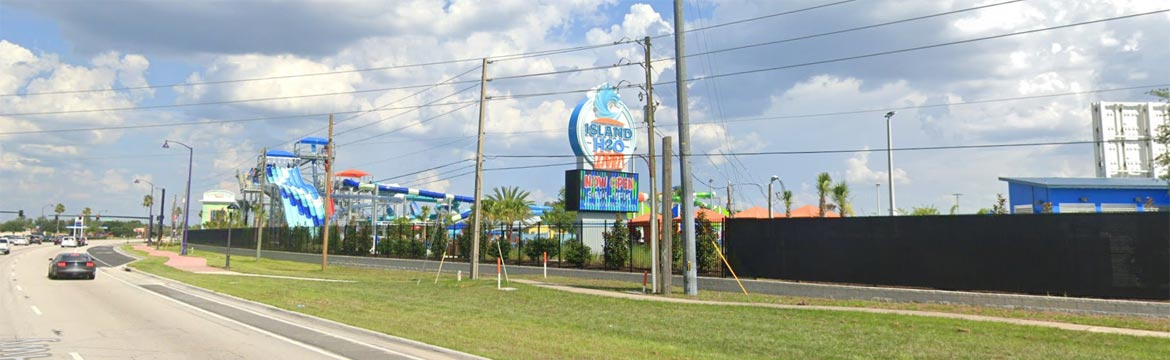 Stay at Highgate Sunshine Villa and visit Island H2O Live! Water Park in Orlando, Florida